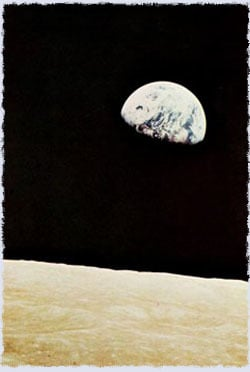 An image of the Moon and the Earth taken by the Apollo 8 crew. (Photo: NASA)