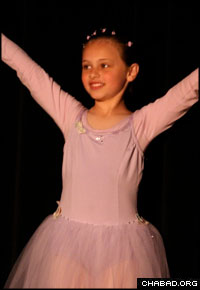 A student of A Time for Dance performs.