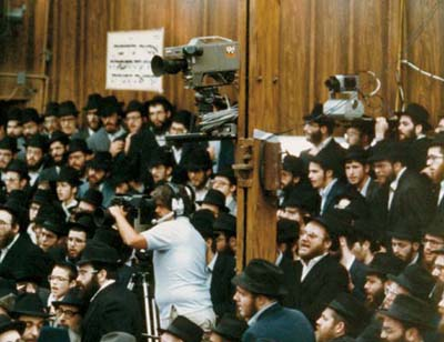 Technology is used to transmit Torah and a message of goodness and kindness across the globe, through all mediums