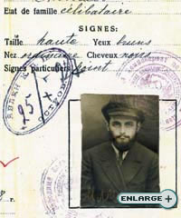 The Rebbe's passport