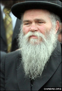 Rabbi Ben Tzion Lipsker passed away at the age of 65. (File photo: Tina Fineberg)