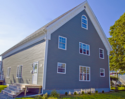 Now re-purposed for apartment living, this building was Yarmouth, Nova Scotia's synagogue for many years.