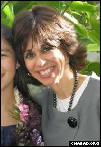 Pearl Krasnjansky, co-director of Chabad of Hawaii, received the 10th-most votes in the contest.