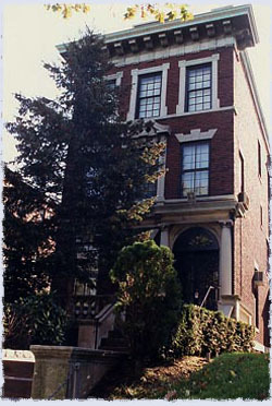 The Rebbe's home