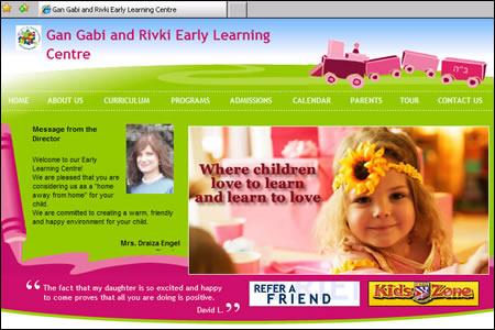 Website of the Holtzberg East Bentleigh kindergarten.