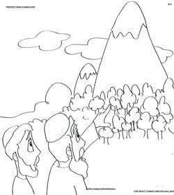 Vayeira Coloring Pages Family Parshah Parshah