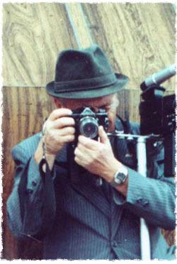 Leivi Freidin and his cameras