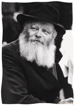 The Rebbe, Rabbi Menachem Mendel Schneerson, of righteous memory. (Photo: Neil Folberg)