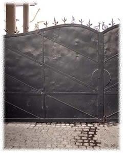 The gates of Oskar Schindler's factory