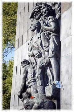 The Warsaw Ghetto Memorial