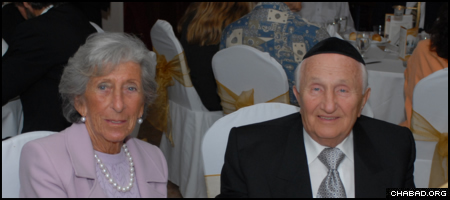 Chabad of South Broward's 29th annual dinner will honor Max and Eve Rubenstein, and will serve as the dedication of the sanctuary bearing their names.
