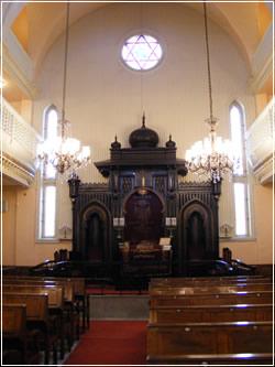 פנים בית הכנסת האשכנזי באיסטנבול, טורקיה
