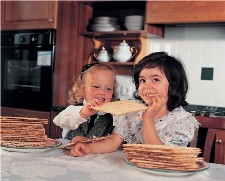 Child Eating Matza