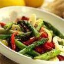 Tri Color Asparagus salad