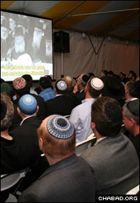 Every year, tens of thousands of people flock to the Rebbe's resting place in Cambria Heights, N.Y., on the anniversary of his passing. Last year, Ohel Chabad Lubavitch, which maintains the site, hosted a screening of footage of the Rebbe's public talks in addition to other events in connection with the day.