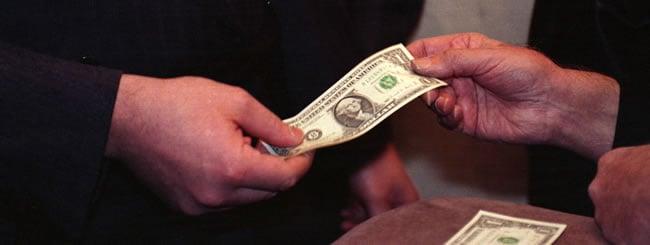 דולרים לצדקה