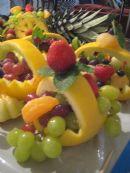 Kuchársky klub Jún - ovocné dekorácie
