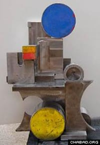 A sculpture by George Tobolowsky was also included in the show.