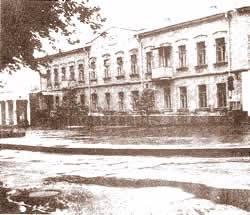 Maison de Rabbi Lévi Its'hak à Nikolaev où le Rabbi grandit