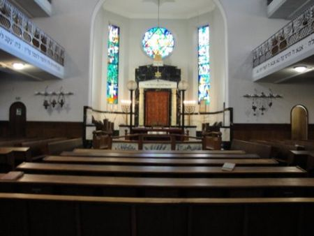 The main sanctuary is rarely ever full.
