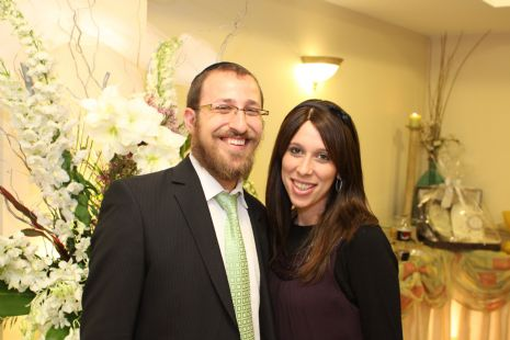 Chana & Rabbi Tzali Borenstein