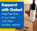 Kapparot - Give to Needy Families Before Yom Kippur!