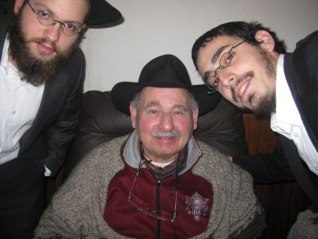 With our Yiddish-speaking friend.