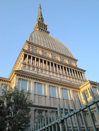 This landmark was supposed to be the synagogue of Turin.