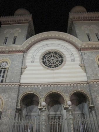 So this is the synagogue of Turin instead.
