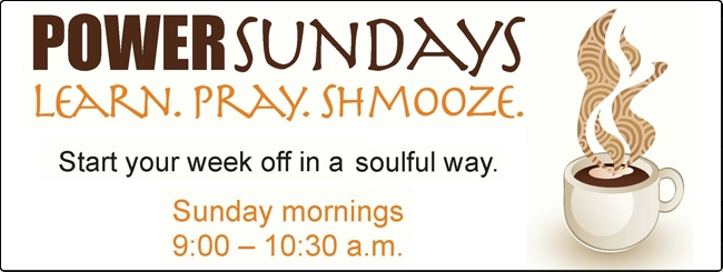 Sunday Minyan at JRCC West Thornhill