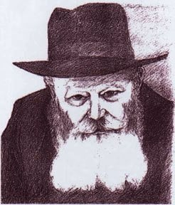 The Rebbe by Tanya Canvasser (Kalms)