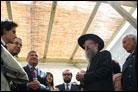 "Italian Officials Inaugurate Rome's ""Sukkah of Peace"""