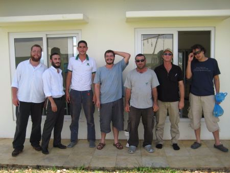 With some of our Vietnames-Israeli friends.