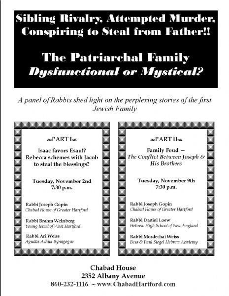 The Patriarchal Family - Chabad House of Greater Hartford