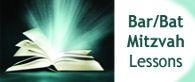 Need Bar/Bat Mitzvah lessons? Contact us!