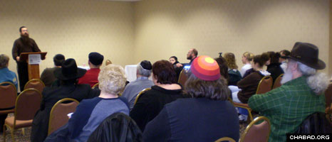 Rabbi Shais Taub, author of G-d of Our Understanding, teaches a class on Jewish mysticism.