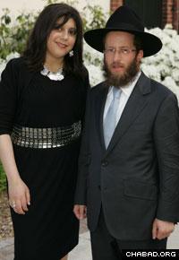 Rabbi Mendel and Sara Deren