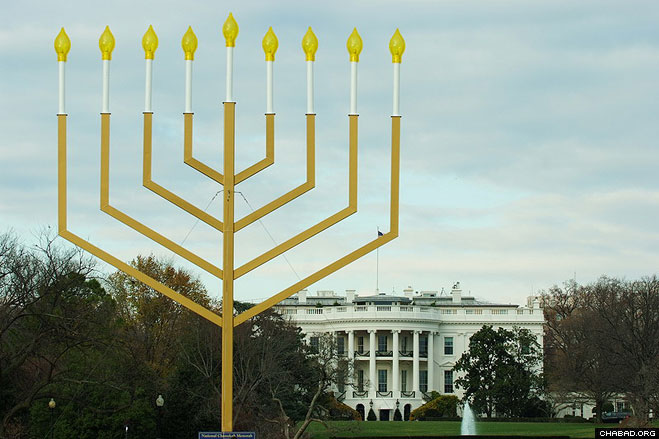 Towering in front of the White House, the National Menorah at the Ellipse has been an annual fixture of Washington winters since the Carter administration.