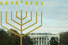 Obama's Highest-Ranking Jewish Official Lights National Menorah