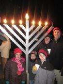 Haddonfield Public Menorah Lighting