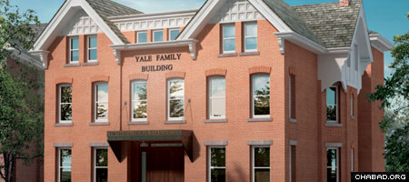 At 8,500 square feet, Yale University's new Chabad House will be eight times the size of the organization's current digs.