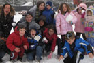 Despite Record Snow Winter Camps Go On