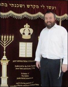 Rabbi Shalom Greenberg today