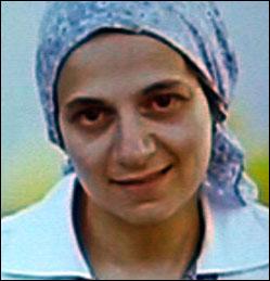 Yehudis Fishman in her twenties.