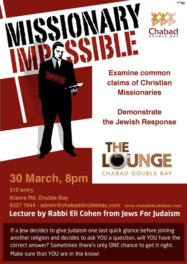 Missionary Impossible - Chabad Double Bay
