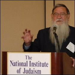Professor Greene delivering a lecture at the conference for Judaism and medicine. (Photo: Osher Litzman)
