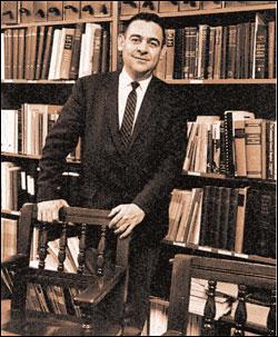 Professor Greene in the 1960's.