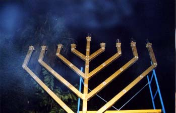 Barcelona, Spain - Publicizing the Chanukah Miracle