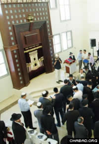 The Be'er Sheva center is the largest Chabad House in Israel.