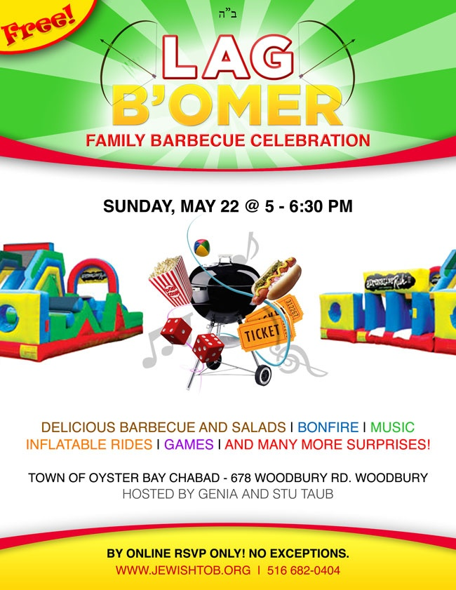Lag B'omer - Click here to Register